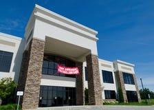 Edificio per uffici per il contratto d'affitto Immagine Stock