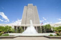 Edificio per uffici principale di LDS Fotografia Stock