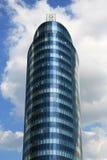 Edificio per uffici rotondo Fotografie Stock Libere da Diritti