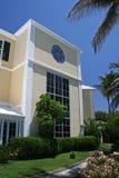 Edificio per uffici tropicale Fotografia Stock