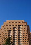 Edificio per uffici unico Fotografia Stock