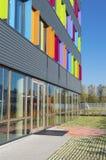 Edificio per uffici variopinto Immagine Stock