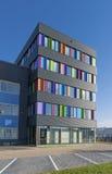 Edificio per uffici variopinto Fotografia Stock Libera da Diritti