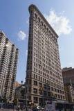 Edificio plano del hierro en Nueva York fotos de archivo