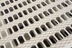 Edificio plano en estilo árabe Foto de archivo libre de regalías