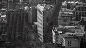 Edificio plano NY del hierro Imagen de archivo