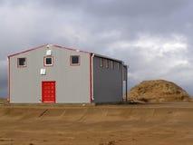Edificio portuario foto de archivo