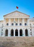 Edificio portugués del parlamento, Lisboa Fotografía de archivo