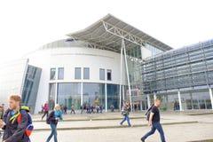 Edificio principal del TUM Fotos de archivo