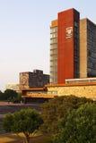 Edificio principal en UNAM fotos de archivo libres de regalías