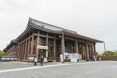 Edificio principal hermoso de Nishi Hongan-ji foto de archivo libre de regalías
