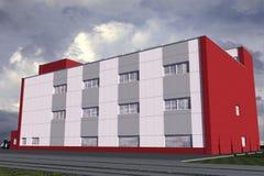 Edificio pubblico Illustrazione di Stock