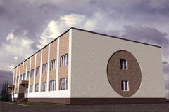 Edificio pubblico Immagine Stock