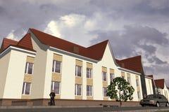 Edificio pubblico Immagine Stock Libera da Diritti