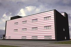 Edificio pubblico Illustrazione Vettoriale