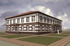 Edificio pubblico Fotografia Stock