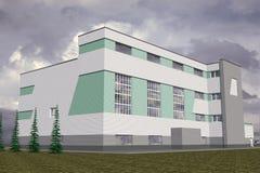 Edificio pubblico Royalty Illustrazione gratis