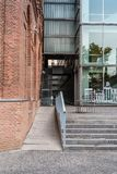 Edificio pubblico moderno di architettura Immagine Stock