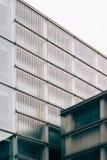 Edificio pubblico moderno di architettura Fotografia Stock