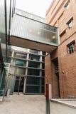 Edificio pubblico moderno di architettura Fotografie Stock Libere da Diritti