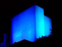 Edificio que brilla intensamente Imágenes de archivo libres de regalías