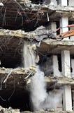 Edificio que se derrumba Imagen de archivo