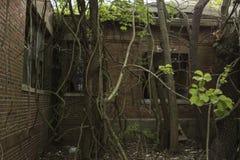 Edificio quirúrgico abandonado Foto de archivo