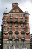 Edificio rayado en Liverpool fotografía de archivo libre de regalías