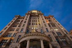 Edificio real del hígado de Liverpool Imagenes de archivo