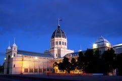 Edificio real Melbourne de la exposición Fotografía de archivo libre de regalías