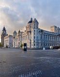 Edificio reale di Cunard e del fegato Fotografie Stock