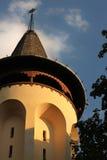 Edificio redondo del detalle Imágenes de archivo libres de regalías