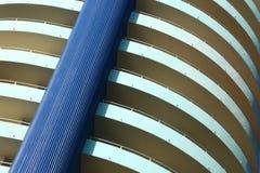 Edificio redondo moderno en Miami Beach Fotos de archivo libres de regalías