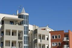 Edificio residencial foto de archivo libre de regalías
