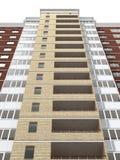 Edificio residencial de varios pisos Imagenes de archivo