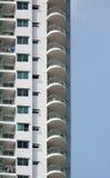 Edificio residencial moderno Fotos de archivo
