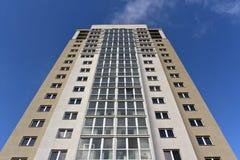 Edificio residencial moderno Foto de archivo libre de regalías