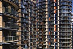 Edificio residenziale Fotografia Stock