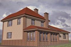 Edificio residenziale illustrazione di stock