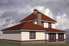 Edificio residenziale Illustrazione Vettoriale