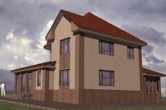 Edificio residenziale royalty illustrazione gratis
