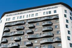 Edificio residenziale Immagine Stock