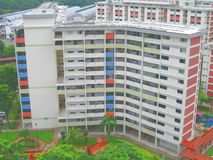 Edificio residenziale Immagini Stock Libere da Diritti