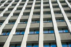 Edificio residenziale Fotografia Stock Libera da Diritti