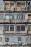 Edificio residenziale abbandonato Fotografia Stock Libera da Diritti
