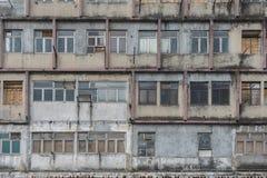 Edificio residenziale abbandonato Fotografie Stock Libere da Diritti