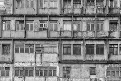 Edificio residenziale abbandonato Fotografia Stock