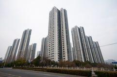 Edificio residenziale cinese Immagini Stock Libere da Diritti