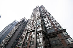 Edificio residenziale cinese Fotografia Stock
