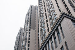 Edificio residenziale cinese Immagini Stock